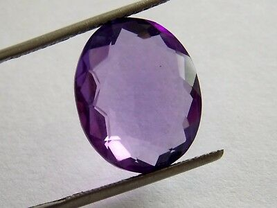 1,99€!!  SUPERBE AMETHYSTE COUPE OVALE BRESIL 15,40 Carats   AM170