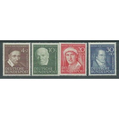 1951 Germania Federale Beneficenza Illustri Seconda Serie 4 V Mnh Mf26498