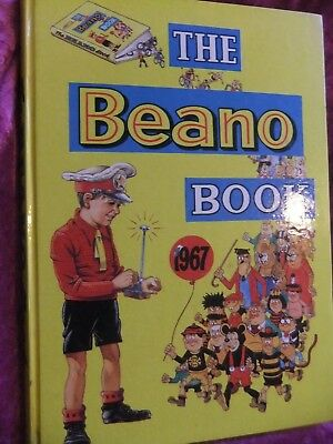 The Beano Book. 1967. Excellent Cover + Spine. Clean Pages.