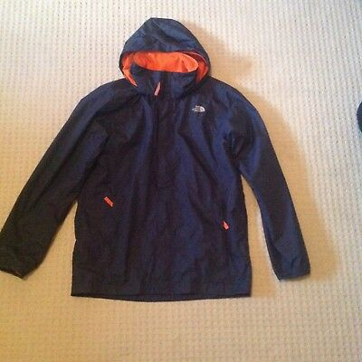 Boys North Face Waterproof breathable blue jacket size xl/tg