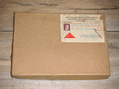 Raumbetrachter 3 D 100 Bildern Deutschland 1942 WK 2 Brief Marke WW II Germany