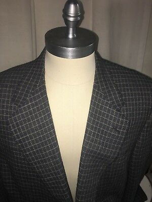 Canali Made In Italy Wool Sportcoat Jacket Blazer 46R