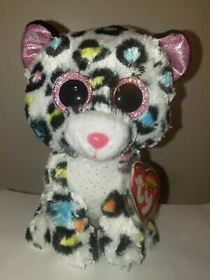 26280b0b429 Ty Beanie Boos ~ TILLEY the Leopard (6 Inch)(Claire s Exclusive) NEW