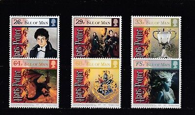 Isle Of Man - Sg1258-1263 Mnh 2005 Harry Potter & Goblet Of Fire
