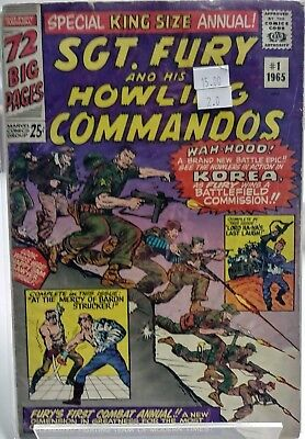 Sgt. Fury and His Howling Commandos Annual #1 GD 2.0+