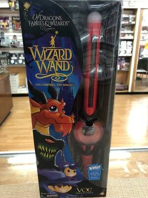 Mighty Wizard Wand Vog the Mighty Red Dragon - Red New