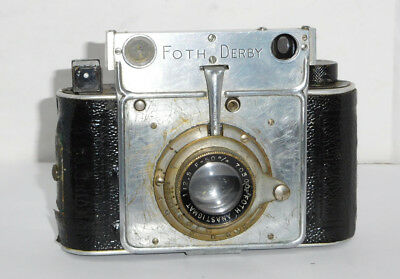 Foth Derby, Model II ~ With Coupled Rangefinder, 127 Film Format