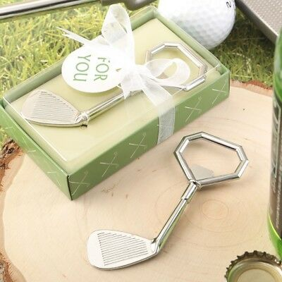 20 Golf Club Bottle Openers Wedding Bridal Shower Birthday Party Gift Favors