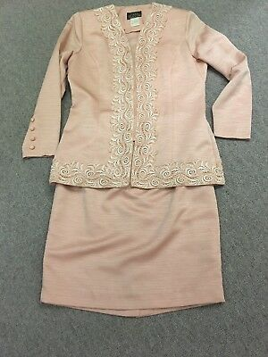 Ladies Skirt Suit Size 14 Gina Bacconi Mother Of The Bride