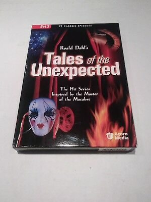 Roald Dahl's Tales of the Unexpected - Set 3 DVD Set - OOP Rare!