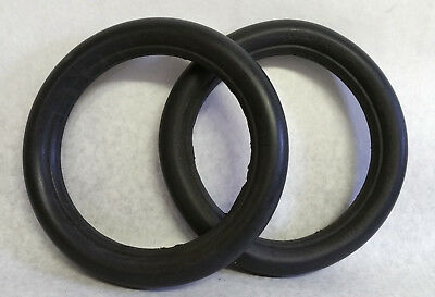 2 Solid Rubber Wheelchair Scooter Flat Free Tire Inserts 8x1¼, NO RESERVE