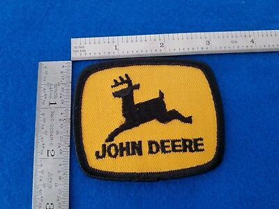 Vintage John Deere Sew On Hat Jacket Cap Patch New Old Stock L@@k Here!!