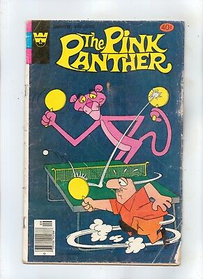 THE PINK PANTHER No 68 with THE PROFESSOR