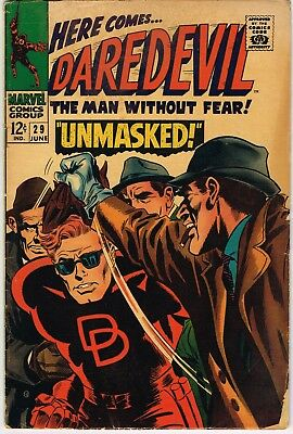 Daredevil Comics: a lot of 8 issues between #16 and # 29 from the 1960s