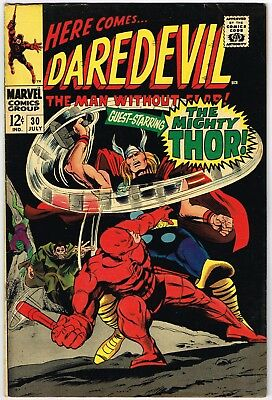 Daredevil Comics: a lot of 8 issues between #30 and #40 from the 1960s