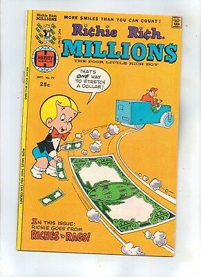 RICHIE RICH MILLIONS No 79 with CADBURY, LITTLE LOTTA and LITTLE DOT