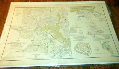 Civil War Battlefield Map - Official Records of the Union and Confederate #5