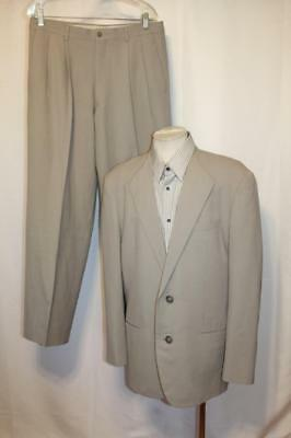 ISSEY MIYAKE Japan On Limits VTG 90's 2 Button Wool Pleated Pants Suit sz.M/42