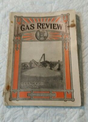 September 1915 Gas Review Magazine Madison, Wi Antique Hit & Miss Engines