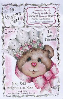 """Jamie Mills Price tole painting pattern with ornament """"The Little Princess"""""""