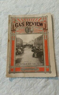 September 1917 Gas Review Magazine Madison, Wi Antique Hit & Miss Engines