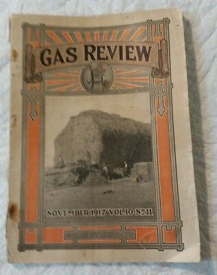 November 1917 Gas Review Magazine Madison, Wi Antique Hit & Miss Engines
