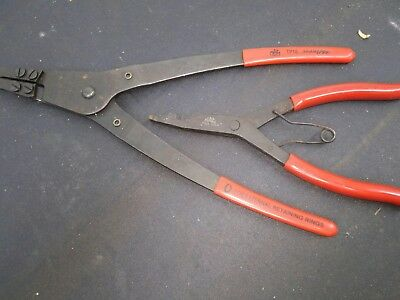 2 Piece Mac Tools Snap Ring Plier Set Tp16 &p21A Brand New Snap On Matco