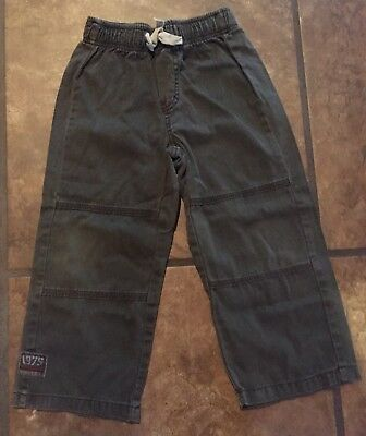 Naartjie Kids SZ 4 Boys 1975 Gray Elastic Waist Pants