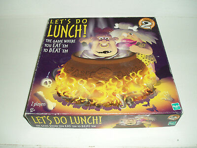 Lets do Lunch! board game by Hasbro. 2000.