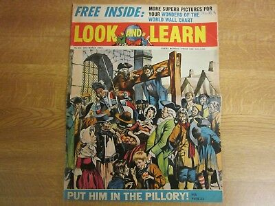 March 1963, LOOK & LEARN, 63, Agincourt, Beavers, Alfred Noyes, Petrol Pump.