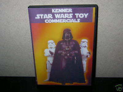 Star Wars VINTAGE,CLASSIC TV ADVERTS DVD,KENNER + LOADS FIGURE'S FOR SALE (10)T