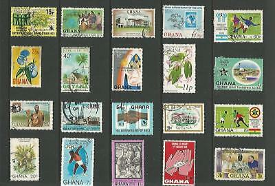 y8031 Ghana /  A Small Collection  Early & Modern Used