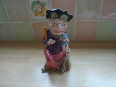 Mr. Punch & Toby the Dog Jug. Melba Ware. M. Wain & Sons. Longton Stoke