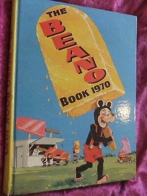 The Beano Book 1970. Very Good Clean And Complete.