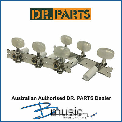 Dr. Parts Classical Machine Head Set - 35mm nickel plated - 15:1 Gear Ratio