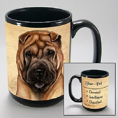 15 oz. Faithful Friends Mug - Shar Pei MFF158 IN STOCK