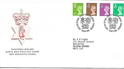 GB 1996 Northern Ireland Regional Machins FDC Bureau cancel