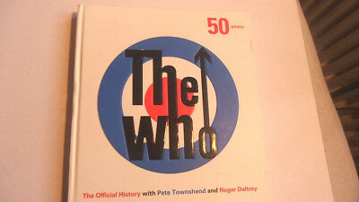 The Who ** 50 Years ** Official History Townshend and Daltrey ** BOOK NEU
