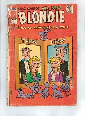 BLONDIE COMICS No 200  Special Anniversary Issue with DAGWOOD