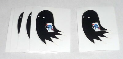 Pabst Blue Ribbon Beer PBR ART Limited Edition GHOST Sticker Lot of 5