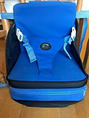 Award-winning portable self inflating booster / baby seat / high chair
