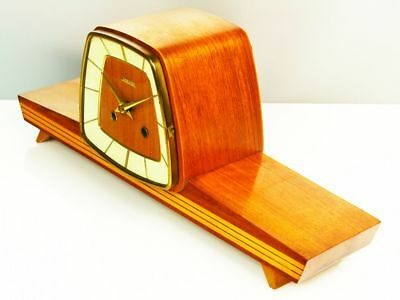 Later Art Deco Design Chiming Mantel Clock From Hermle - Ankra