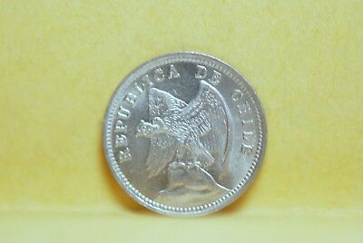 Chile, 1937 5 Centavos, Brilliant UNC, No Reserve,                           5fs