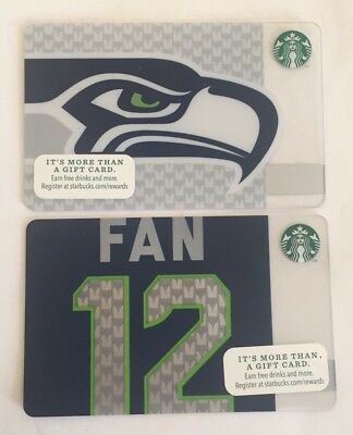 Starbucks Gift Card. SEATTLE SEAHAWKS 2013-2014. New. Worldwide shipping.