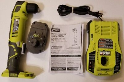 Ryobi One+ P241 Right Angle Drill with 18V Lithium Battery + Charger!!
