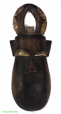 Toma Mask No Mouth Horns Landai Guinea African Art  SALE WAS $225