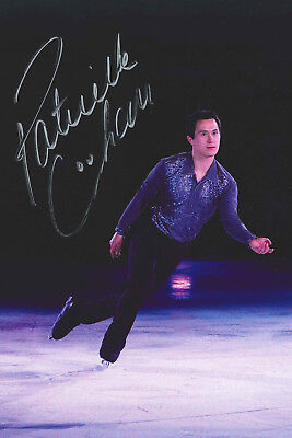 Patrick Chan★CAN★Eiskunstlauf★Olympiasieger 2018★Autogramm★Repro