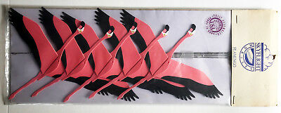 Pink flamingo mobile - new in bag but 80s vintage Skyflight