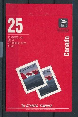 [83936] Canada good complete booklet Very Fine MNH
