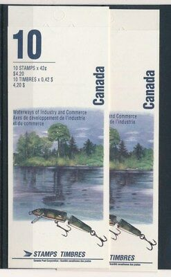 [83940] Canada 2x good complete booklet Very Fine MNH